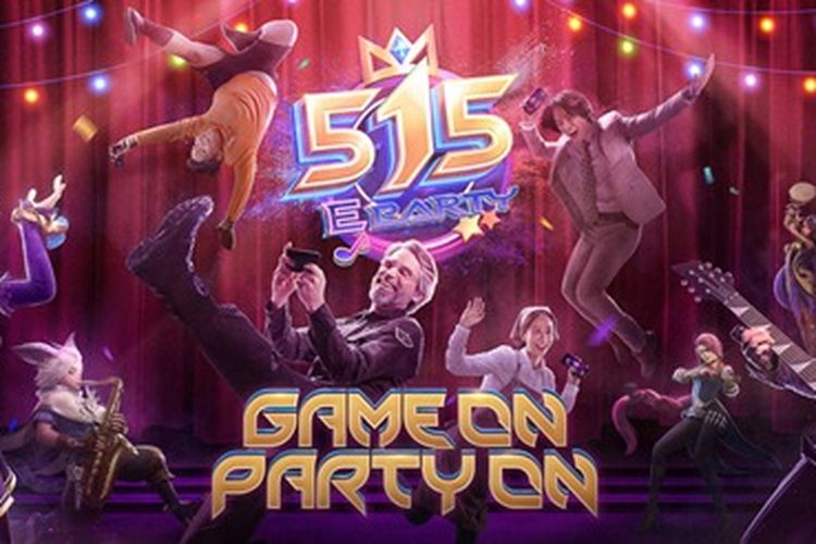 Acara Mobile Legends: Bang Bang (MLBB) 515 eParty 2020 merupakan perayaan ulang tahun keempat game tersebut yang dilakukan secara daring.