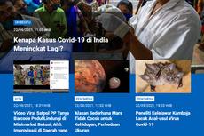 [POPULER SAINS] Kenapa Kasus Covid-19 di India Meningkat Lagi? | Viral Satpol PP Tanyakan Barcode PeduliLindungi ke Minimarket