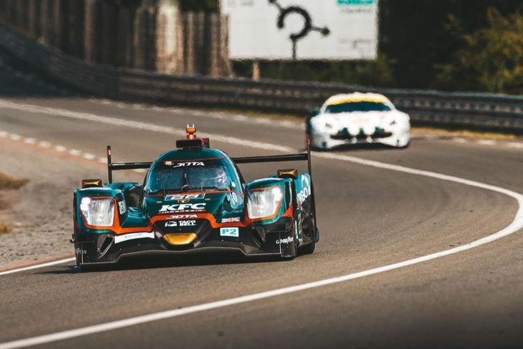 Pebalap asal Indonesia, Sean Gelael, tampil pada Test Day menjelang ajang Le Mans 24 Hours.