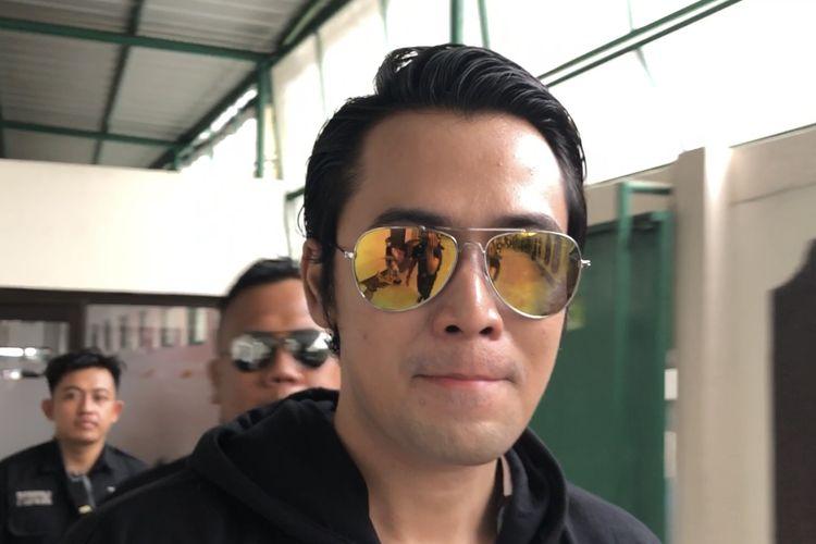 Kriss Hatta di Pengadilan Negeri Jakarta Selatan, Kamis (28/11/2019).