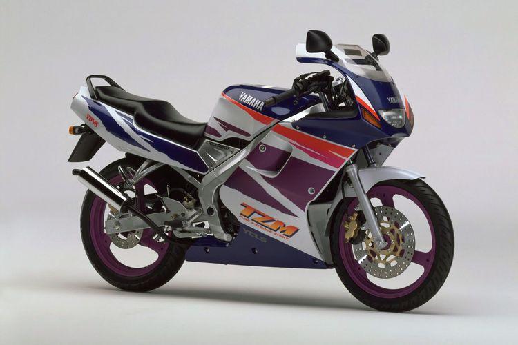 Motor 2-tak legendaris Yamaha TZM 150