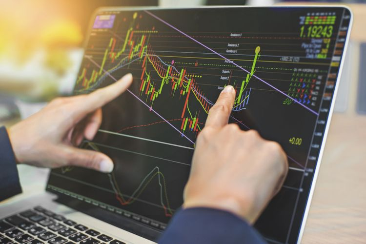 Ilustrasi trading forex