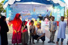 Di Safari Ramadhan BUMN, Antam Beri Santunan ke 1000 Anak Yatim