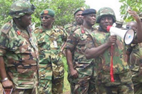 Tentara Nigeria Melarikan Diri dari Pertempuran dengan Boko Haram