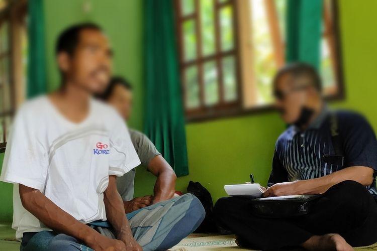 Kemisan dari Plampang 2 Kalurahan Kalirejo, Kapanewon Kokap, Kabupaten Kulon Progo, Daerah Istimewa Yogyakarta.
