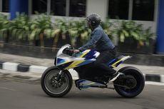 [VIDEO] Uji Motor Listrik Universitas Budi Luhur, Mirip Motor Robocop