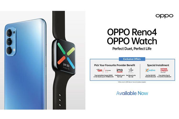 Promo dari OPPO Reno4. (Dok. OPPO)