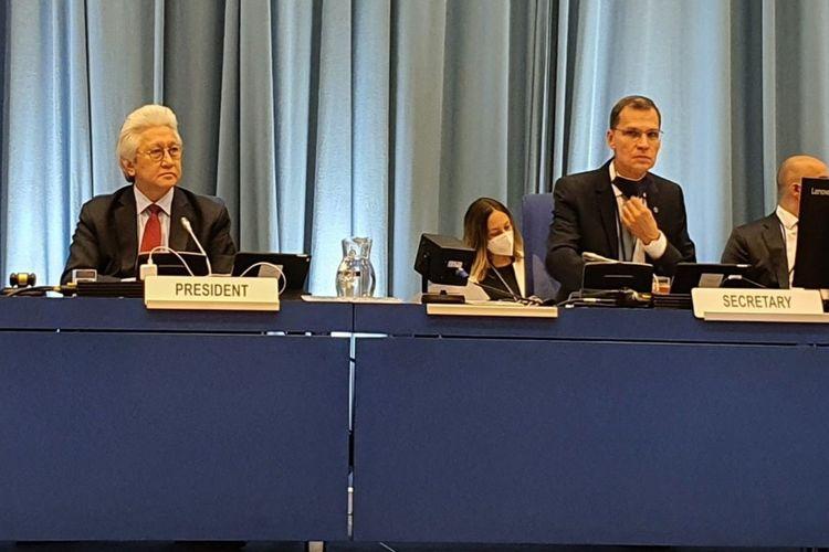 Pertemuan IDB UNIDO PBB.