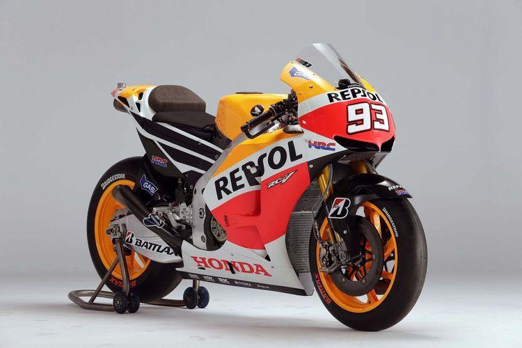 Honda RC213V - Evolusi motor balap tim Repsol Honda yang selalu raih gelar juara dunia