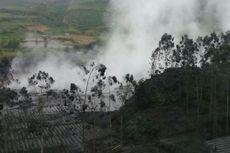Kawah Sileri Dieng Semburkan Lumpur Setinggi 150 meter
