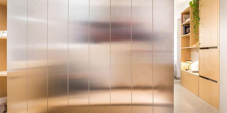 Material stainless stell yang memberikan efek modern