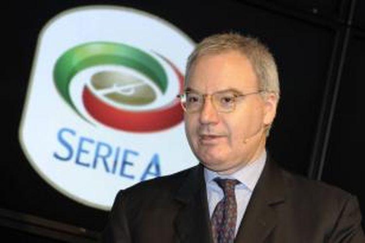 Presiden Serie-A, Maurizio Beretta.