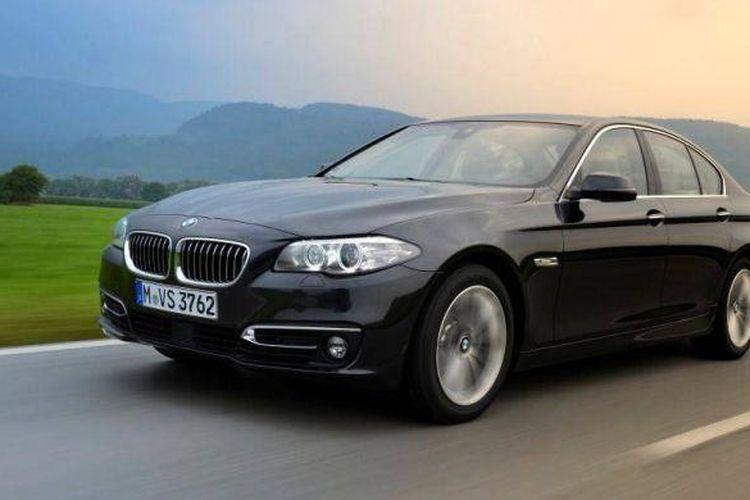 BMW 520d Luxury meluncur di Indonesia