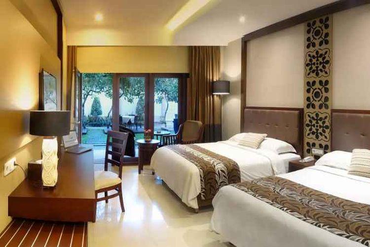 Ilustrasi hotel - Kamar tipe Executive Garden View di The Arnawa Hotel, Pangandaran.