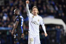Luka Modric Perpanjang Daftar Pemain Real Madrid yang Cedera