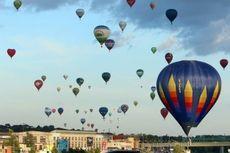 Festival 100 Balon Udara Warnai 100 Tahun Kemerdekaan Lituania