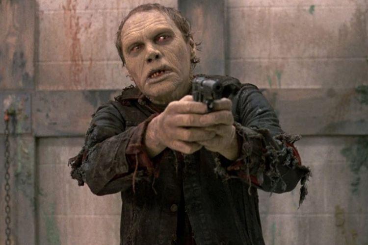 Sherman Howard dalam film horor legendaris Day of the Dead (1985).