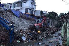 Lagi, Tanah Longsor Terjadi di Jagakarsa, Jakarta Selatan