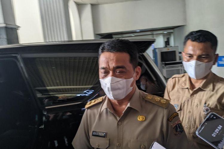 Wakil Gubernur DKI Jakarta Ahmad Riza Patria saat ditemui di Balai Kota DKI Jakarta, Selasa (25/5/2021).