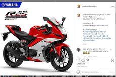 Rendering Yamaha YZF-R25 Facelift Pakai Desain R7