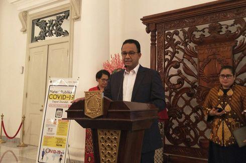 Anies Baswedan Imbau Warga DKI Terapkan 'Social Distancing Measure'