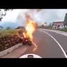 Moge Terbakar Saat Touring, Pentingnya Inspeksi Sebelum Jalan Jauh