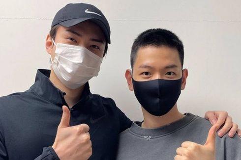 Sehun Wakili Personel EXO Antar Baekhyun Berangkat Wamil