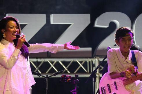 Saat Yura Duet dengan Yuri di Prambanan Jazz 2019