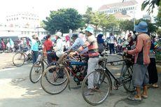 Eksistensi Ojek Sepeda Kota Tua di Tengah Menjamurnya Ojek