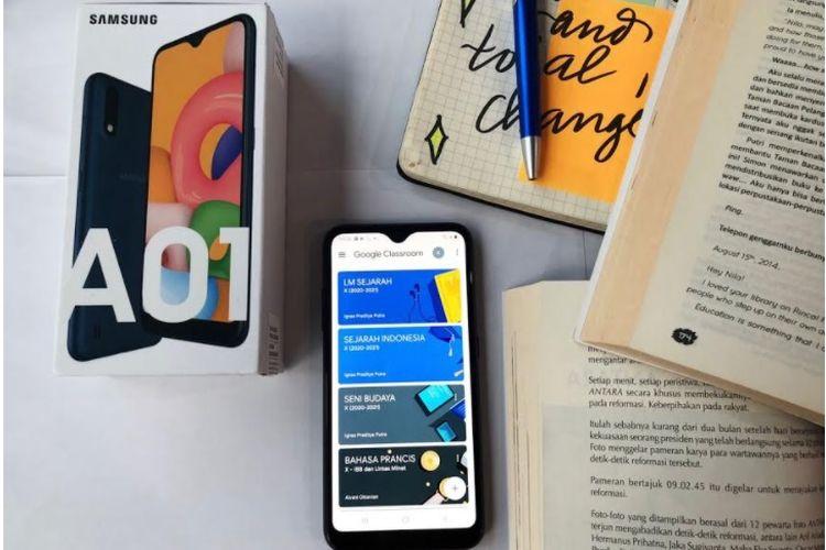 Ilustrasi Samsung Galaxy A01