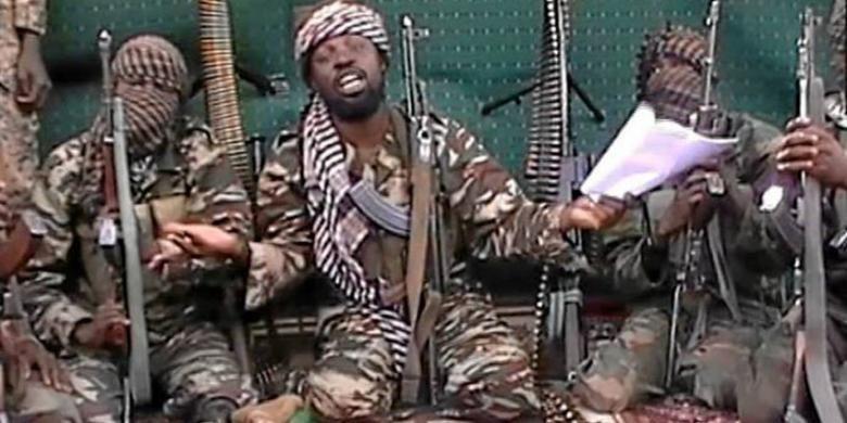 Pemimpin kelompok teroris Boko Haram, Abubakar Shekau