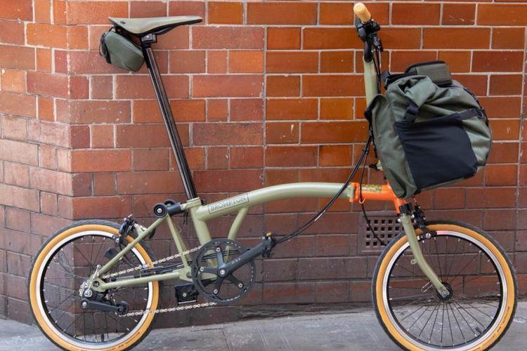Ini Harga Sepeda Lipat Brompton Ilegal yang Ada di Kargo