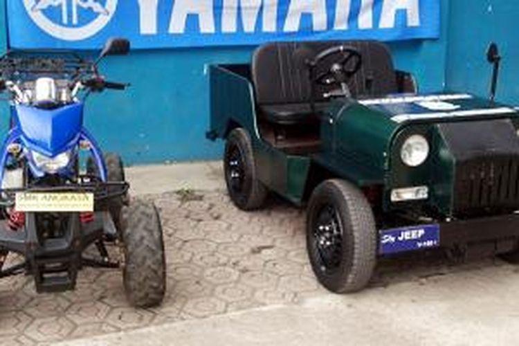 ATV dan prorotipe Jeep ini bermesin Yamaha V-ixion.