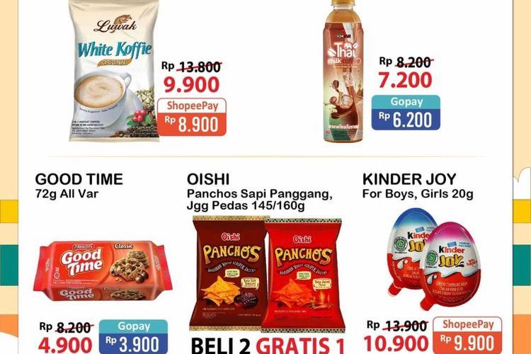 Promo Alfamart periode 8-10 Oktober 2021.
