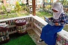 SD di Cianjur Ini Terapkan Konsep Ecobrick, Lingkungannya Jadi Asri dan Artistik