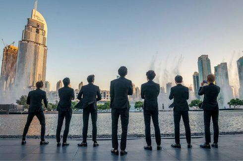 Power Milik EXO Diputar di Dubai Fountain Sepanjang September