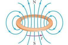 Induksi Magnetik pada Kawat Lingkaran Berarus Listrik