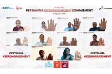 Resmi, Pertamina Jadi BUMN Pertama Deklarasikan Komitmen Zero Harassment
