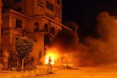 Markas Ikhwanul Muslimin di Kairo Diserbu dan Dibakar Massa