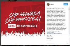 Jokowi dan Netizen Suarakan #SayaPancasila