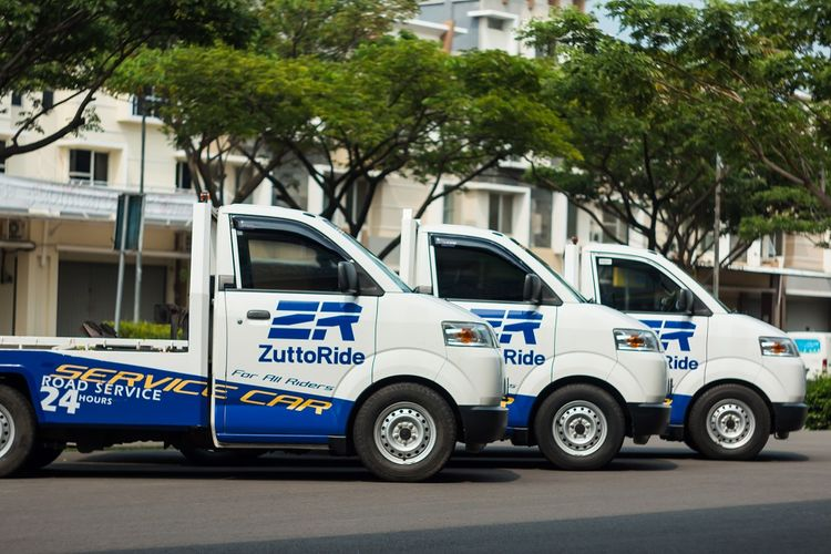 Ilustrasi layanan towing motor dari ZuttoRide
