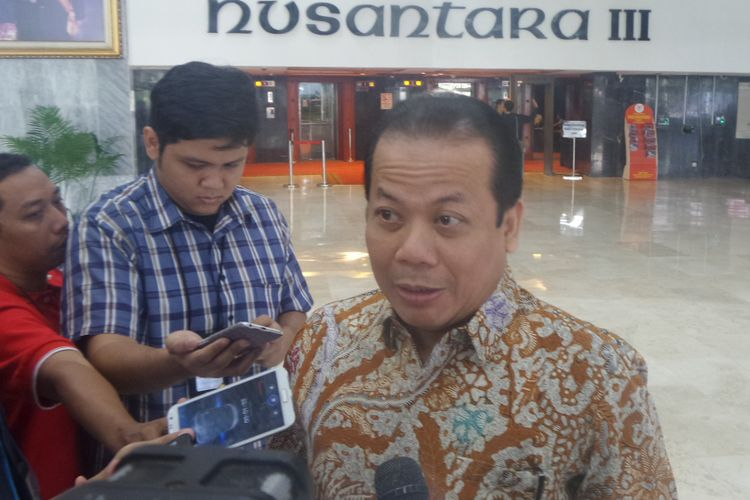 Wakil Ketua DPR RI Taufik Kurniawan di Kompleks Parlemen, Senayan, Jakarta, Rabu (2/8/2017).