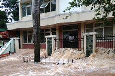 1.613 Orang Mengungsi di 11 Lokasi akibat Banjir di Jakarta