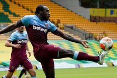 Norwich Vs West Ham - Cetak 4 Gol, Michail Antonio Ikuti Jejak Harry Kane