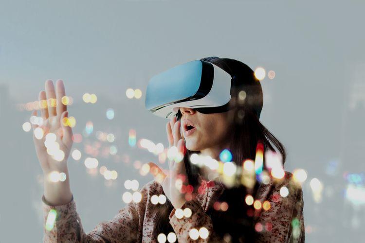 Virtual Reality Vr Dan Contoh Penggunaannya Halaman All Kompas Com