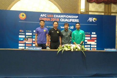 Kualifikasi Piala Asia U-23, Indonesia Siap Tempur Lawan Malaysia