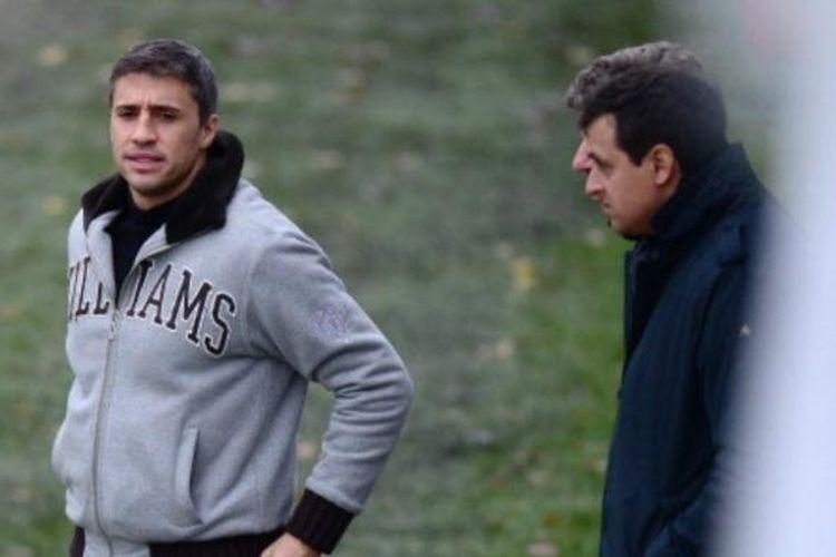 Mantan striker tim nasional Argentina, Hernan Crespo.