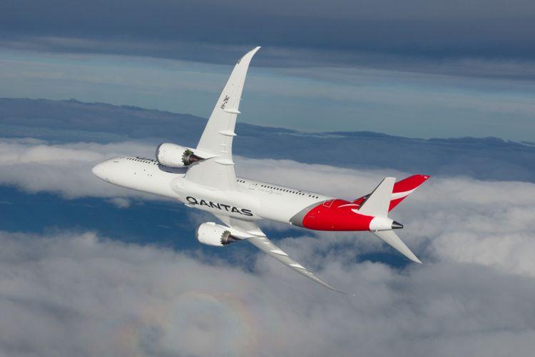Pesawat Qantas Airways