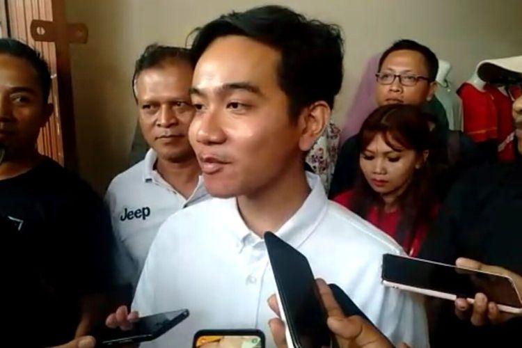Bakal calon Wali Kota Surakarta, Gibran Rakabuming Raka.