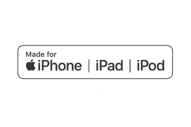 Logo aksesoris produk Apple (MFi) baru